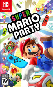 Super Mario Party Nintendo Switch Neuf/Scellé New/Sealed