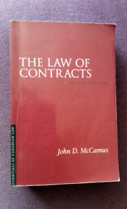 The Law of Contracts, John D. McCamus, 2nd edition