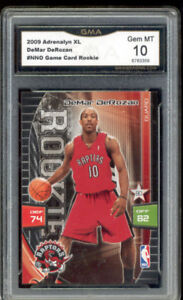 2009 Demar DeRozan Adrenalyn XL Rookie Gem Mint 10