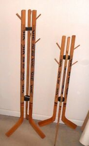 hockey stick coat rack instructions