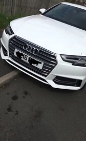 AUDI A4 SLiNE 200BHP 2016 / white / car hire / wedding /prom/ Chaufeurer available / ibis white 2016