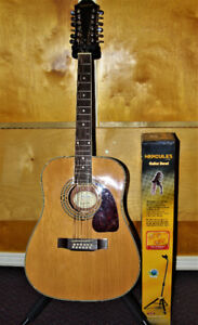 new 12 string acoustic guitar Epiphone DR-212 worth $450