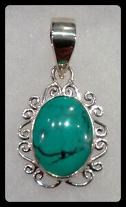 Turquoise Sterling Silver Jewellery