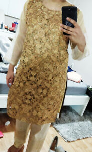 New Fancy Wedding / Nikkah Pakistani / Indian style outfit