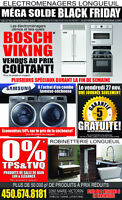 BLACK FRIDAY!!MEGA LIQUIDATION ELECTROMENAGERS ET ROBINETTERIE