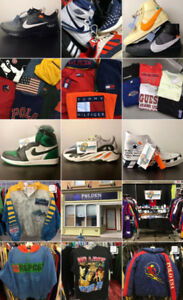 LOW QUANTITY - SNEAKERS & APPAREL - GRAND OPENING!