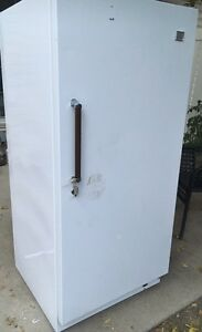 Kenmore stand up deep freezer in excellent cond