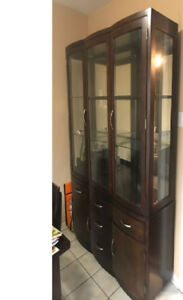 Pick Up for Free sofa, cabinet, hutch buffet kitchen cabinet