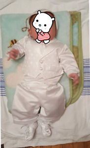 2 Christening Suit 0-3mos
