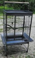 EZ Care Parrot Cage. As New. Cost $500.00