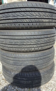 4 All Season Tires - P175/65R15 - 84T - Nearly new