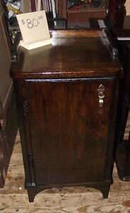 Custom Made solid wood SideTable/ Night stand or cabinet