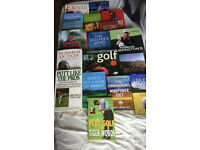 20 golf books most not read