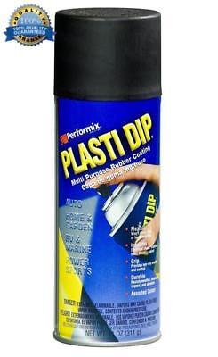 1 Performix Plasti Dip Black Aerosol 11 Oz Matte. Rubber Coating Spray Can New F