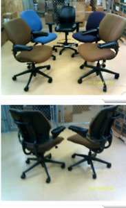 Office chair with hydraulic lift