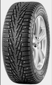 Nokian Nordman 5 studded winter tires with rims