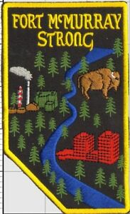 Fort McMurray strong patch