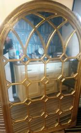 Brand new church / gothic style mirror