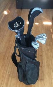 Left-handed men's golf clubs