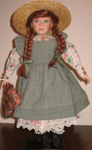 """22"""" Anne of Green Gables Doll Turn of the Century Doll"""