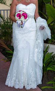 "Designer Dress by Pronovias ""Jackie""  White One"