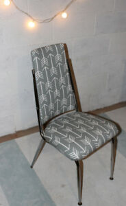 Grey retro chair