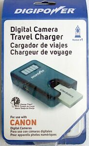 DIGIPOWER DIGITAL CAMERA BATTERY TRAVEL CHARGER FOR CANON TC-55C