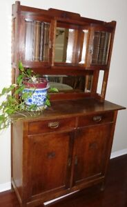 Antique OAK Buffet/Hutch