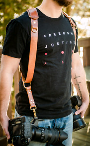 leather camera harness straps sling