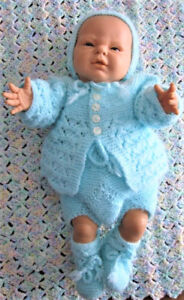Berjusa Realistic New Baby Just Born Boy Doll