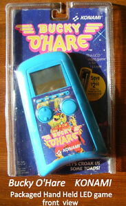 Bucky O'Hare Konami LCD Game, 1991, 1 PLAYER