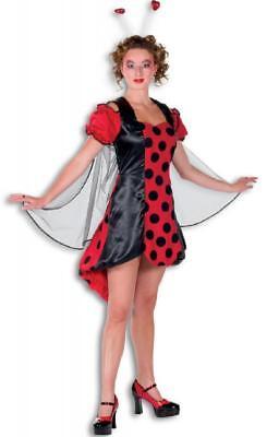 Marienkäfer Marien Käfer Schmetterling Fee Kostüm Kleid Damen - Marienkäfer Fee Kostüm