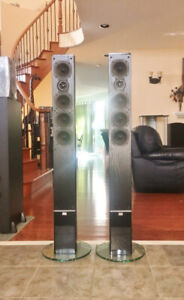 Sinclair Audio Slim Tower Speakers Sculptura ST4 *Reduced*