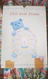 Baby frame (first Year) newborn to 1 year