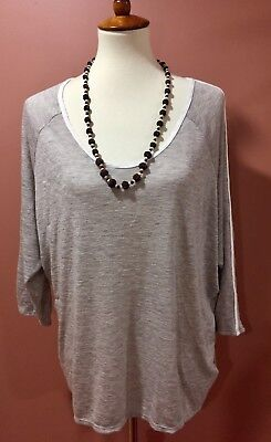 Stitch Fix Laila Jayde Bovina Dolman Knit Tan Top Size Xl