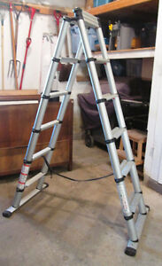 Moving -Lite Products 7' Telescoping Ladder, barely used.