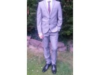 Moss Bros suit - worn twice - ideal for prom or wedding