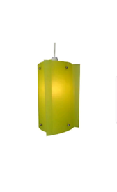 2x Ceiling Shades PANELLED CONTEMPORARY GLASS SHADE