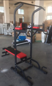 Pull up station. Power training