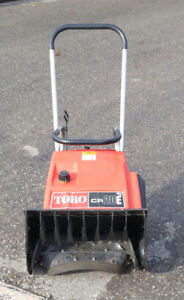 serviced commercial grade Toro CR20 gas snowthrower with auger