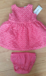 Brand New Carters Pink Lace Party Dress - $20