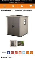 6x6' Shed