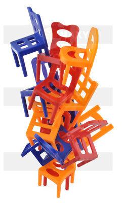 Stuhl auf Stuhl Familienspiel Stühle Stapeln Geschicklichkeit