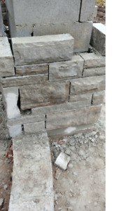 Armor stone of various sizes, natural limestone blocks in Barrie