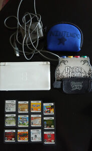 Nintendo DS Lite with 12 Games and Accessories