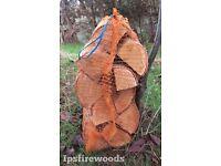 Firewood kiln dried hardwood 40ltr nets for wood burners & multi fuel stoves