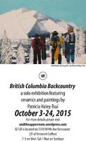 British Columbia Backcountry art show