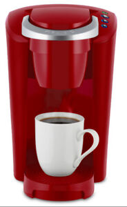 Keurig Compact Red With Matching Storage