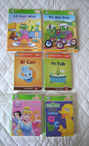 Leap Frog Tag, Leap Reader Junior and Tag Junior Books
