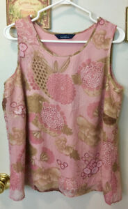 Women's Summer Tops, Size Large